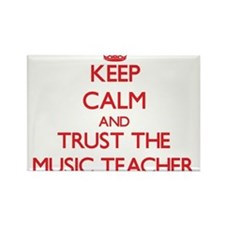 Keep Calm and Trust the Music Teacher Magnets