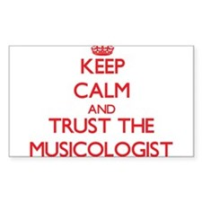 Keep Calm and Trust the Musicologist Decal
