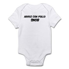Arroz Con Pollo Infant Bodysuit