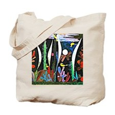 Klee - Landscape with Yellow Birds Tote Bag