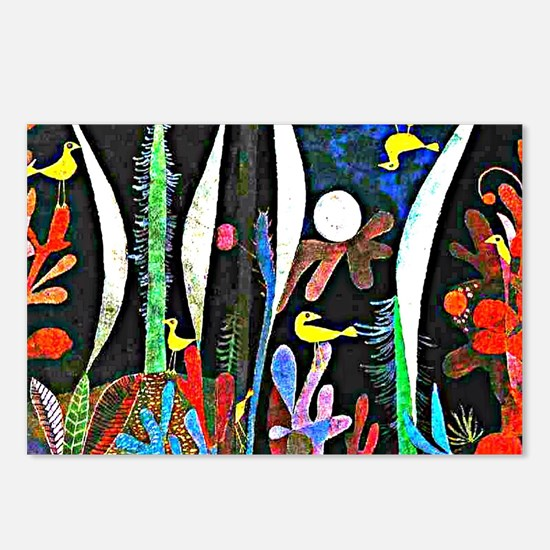 Klee - Landscape with Yel Postcards (Package of 8)