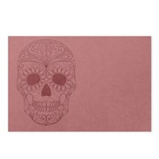 Pink Sugar Skull Postcards (Package of 8)