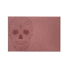 Pink Sugar Skull Magnets