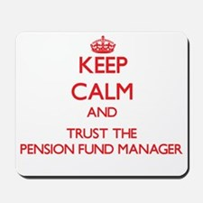 Keep Calm and Trust the Pension Fund Manager Mouse