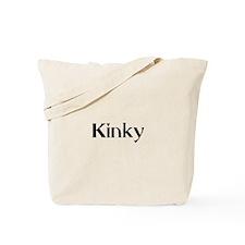 KINKY1_BLK1 Tote Bag