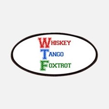 Whiskey Tango Foxtrot Patches