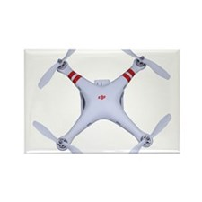 DJI Phantom Quadcopter Top View Magnets
