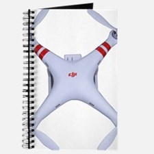 DJI Phantom Quadcopter Top View Journal
