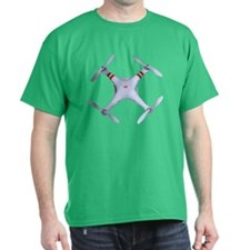 DJI Phantom Quadcopter Top View T-Shirt