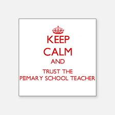 Keep Calm and Trust the Primary School Teacher Sti