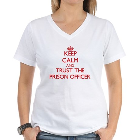 Keep Calm and Trust the Prison Officer T-Shirt