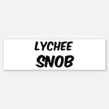 Lychee Bumper Bumper Bumper Sticker