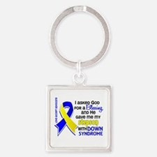 Blessing 4 Stepson DS Square Keychain