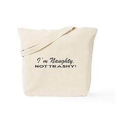 TRASHY1_BLK1 Tote Bag