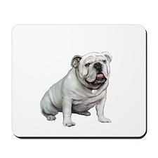 English Bulldog (W1) Mousepad