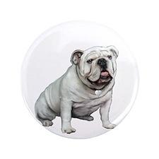 "English Bulldog (W1) 3.5"" Button"