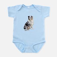 Australian Shep (gp1) Infant Bodysuit