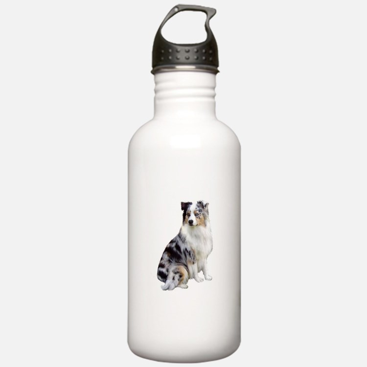 Australian Shep (gp1) Water Bottle