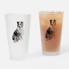 Australian Shep (gp1) Drinking Glass