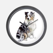 Australian Shep (gp1) Wall Clock