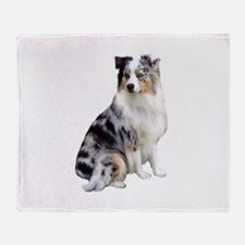 Australian Shep (gp1) Throw Blanket