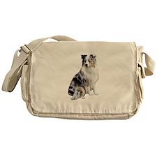 Australian Shep (gp1) Messenger Bag