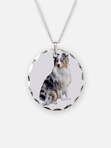 Australian Shep (gp1) Necklace