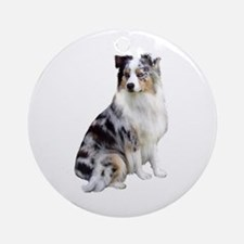Australian Shep (gp1) Ornament (Round)