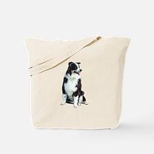 Australian Shep (BW) Tote Bag