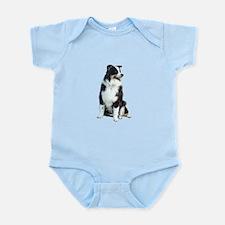 Australian Shep (BW) Infant Bodysuit