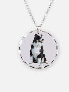 Australian Shep (BW) Necklace