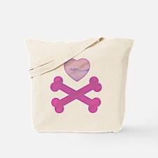 Heart and Bones Tote Bag