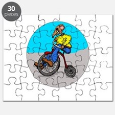 Tricycle Ryder Puzzle