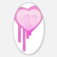 Dripping Heart Decal