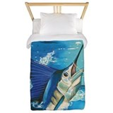 Sportfishing Twin Duvet Covers
