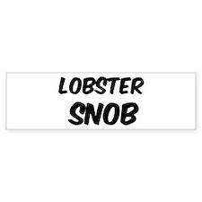 Lobster Bumper Bumper Sticker