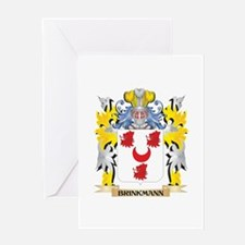 Brinkmann Coat of Arms - Family Cre Greeting Cards