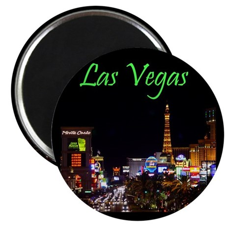 Las Vegas Center Strip Magnet