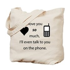 Introvert Love Tote Bag