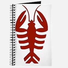 Vintage Art Deco Lobster Journal