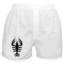 Vintage Art Deco Lobster Boxer Shorts