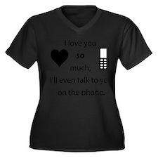 Introvert Love Plus Size T-Shirt