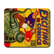 Exciting Comics #6 Mousepad