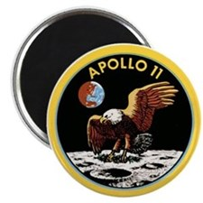 Apollo 11 Patch Magnet