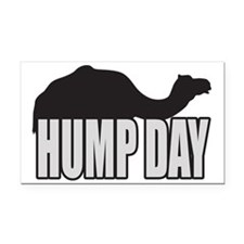 Hump Day Rectangle Car Magnet