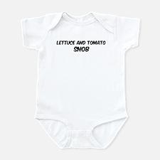 Lettuce And Tomato Infant Bodysuit