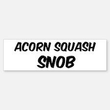 Acorn Squash Bumper Bumper Bumper Sticker