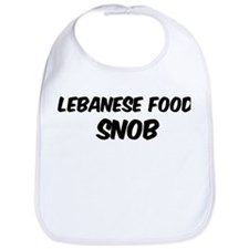 Lebanese Food Bib