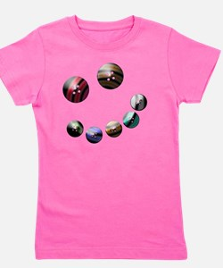 Those crazy Button Eyes Girl's Tee