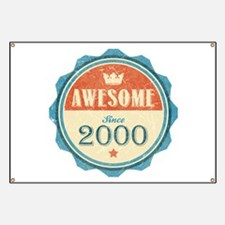 Awesome Since 2000 Banner